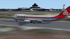 Vatsim Cargolux B747 8f Ubbb Baku Ellx Luxembourg Freehk