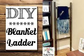 Diy Blanket Ladder Diy Blanket Ladder Youtube