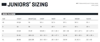 Puma Golf Size Chart Juniors Sizing