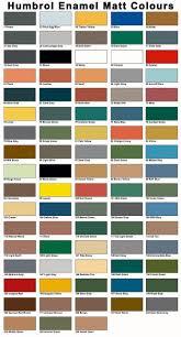 Airfix Model Paint Colour Chart Humbrol 14ml Paint Tin Matt Enamel Sale