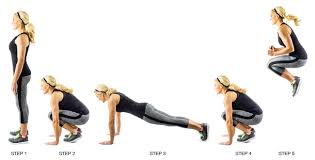 Image result for woman plank jumps