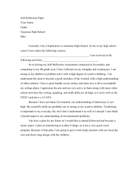 group project self reflection and evaluation self reflection paper your grade anamosa high school