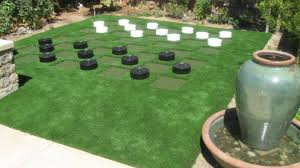 artificial turf yard. Perfect Yard Lawn Checkers Throughout Artificial Turf Yard