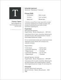 Free Printable Resume Template Beauteous Resume Templater Blank Resume Template Printable Free Printable