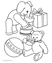 Small Picture Free Printable Christmas Coloring Sheets of Toys Hand