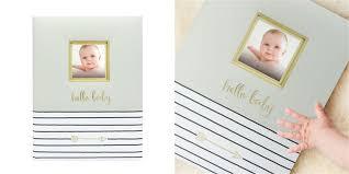 Baby Photo Album Books Pearhead Hello Baby Baby Book Grey By Pearhead Memory Books