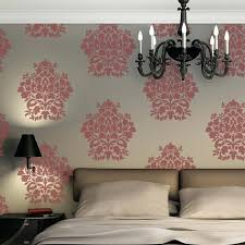 stencil wall paper large wall damask stencil allover stencil for easy wallpaper decor wall stencil patterns stencil wall