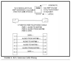 telex adam rj11 line connector jpg 1