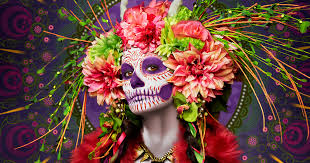 las muertas deadly beauties pose in colorful tribute to day of the dead bored panda