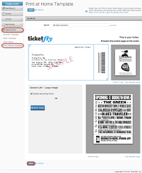 ticketfly create a print at home ad template adding the print at home template to an event