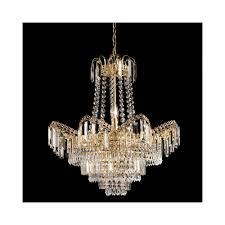 adagio 96819 go gold chandelier light