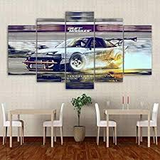 SYJL Wall Modular Pictures for Living Room 5 Panel ... - Amazon.com