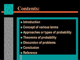 Types Of Probability Probability And Its Types With Rules