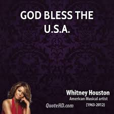 Usa Quotes Simple Whitney Houston Quotes QuoteHD