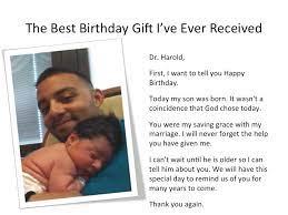 Best Birthday Gift Ever