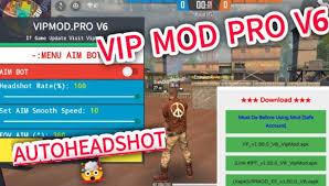Apasih kelebihan dari cheat ffh4x ini ?? Vip Mod Pro V6 Cheat Auto Headshot Ff Download Disini Area Tekno
