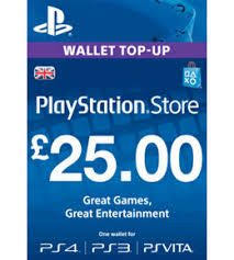 Network Up Top Wallet £25 Playstation