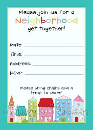 Neighborhood Party Invitation Wording Block Party Invitation Template Block Party Invitation Plus New