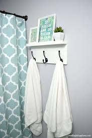 diy towel rack towel rack with a shelf dwelling in happiness diy towel holder for pool