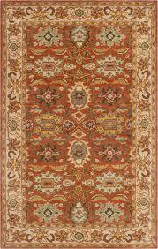 burnt orange rug. Safavieh Heritage HG734D Beige, Burnt Orange 7\u00276\ Rug