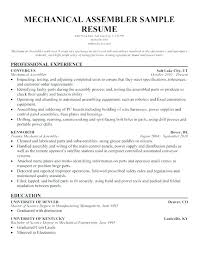 assembly line resume job description assembler job description for resume production worker resume sample