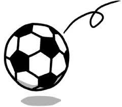 サッカーボール イラスト シンプルイラスト素材