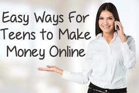 Making money online teen