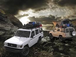 Toyota Land Cruiser 70 Slimline II Roof Rack Kit - by Front Runner