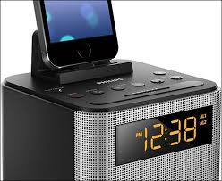 Philips Clock Radio Docking Station for iPhone 6-6s Plus