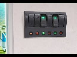 narva 63193 6 way led switch panel with fuse protection and 6 spst Fuse Switch for 8 at Fuse Box To Tagle Switch
