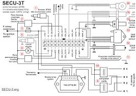 wiring diagrams for secu 3t 24 pins connector МПСЗ secu 3 ПодкРючение secu с двухканаРьным коммутатором