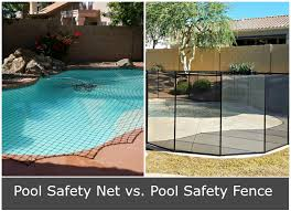 safety pool fence. Pool Safety Fence Vs. Net