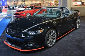 """SEMA 2014: Classic Design Concepts 2015 Ford Mustang """"Outlaw ..."""