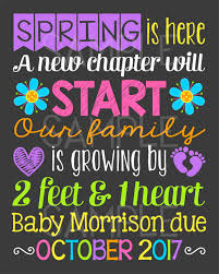 spring baby announcements spring pregnancy announcements aideretsauver com