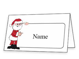 christmas placecard templates free printable christmas place cards and place card templates free