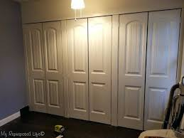 closet barn doors with mirrors bifold ikea sliding san go ca wall to french using bi