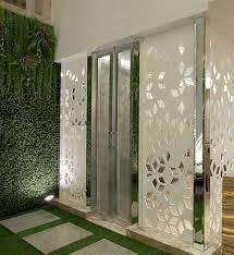 pooja room glass door design photos