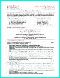 Sample Resume For Security Officer Position Inspirational Cyber