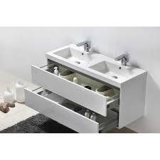 wall mount double sink. Valencia 47 With Wall Mount Double Sink
