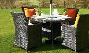 round garden table margarita round table 4 chairs brown rattan garden set garden bench table plans