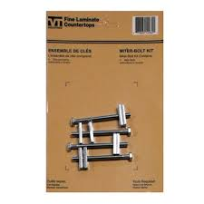 vti fine laminate countertops laminate countertop miter bolt kit lowe s canada