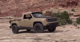 What It's like to Drive a Jeep Renegade Pickup with a Diesel ...