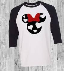 Gildan Youth Raglan Size Chart Custom Made Disney Minnie Hearts Shirt Size Charts For