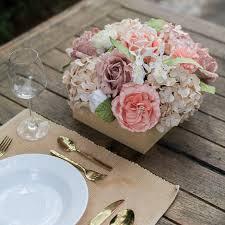 Paper Flower Wedding Decorations Sweet Old Rose Artificial Paper Flower Posie Flowers