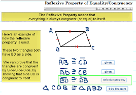 Reflexive Property Of Equality Congruency Teh Reflexive