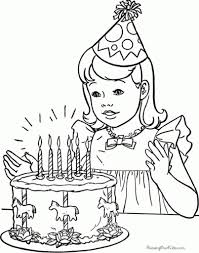 Birthday Coloring Pages Free – Pilular – Coloring Pages Center