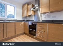 Fitted Kitchen Modern Fitted Kitchen Units Within New Stock Photo 73757509