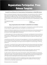 sample press release template press release templates free word pdf doc formats