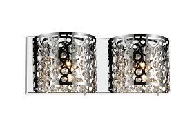 Chrome Bathroom Lighting Fixtures Enchanting 48 Light Vanity Light With Chrome Finish 48W48STR48 Living
