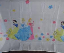 Delightful Nr.1104/1 Reststück 120cm X 200cm Gardinen Vorhang Stoff Kinderzimmer  Cinderella